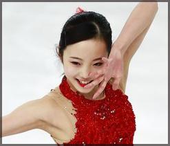 本田真凛,スケート