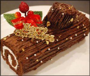 クリスマスケーキ,由来,ブッシュドノエル