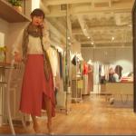 あなそれ2話衣装!大政絢スカート&ストールが可愛い!ブランドはどこ?