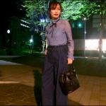 あなそれ4話衣装!大政絢の青リボンカットソーが可愛い!ブランドはどこ?