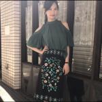 あなそれ8話衣装!大政絢の緑トップス&柄スカートが可愛い!ブランドはどこ?