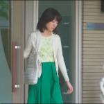 あなそれ9話衣装!波留白カーデ&緑フレアスカートが可愛い!どこのブランド?