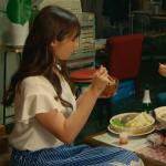 ハロー張りネズミ7話衣装!深田恭子の青白ストライプスカートが可愛い!ブランドはどこ?
