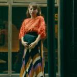 黒革の手帖6話衣装!仲里依紗のオレンジボアニット&柄スカートが可愛い!ブランドはどこ?