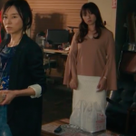 ハロー張りネズミ6話衣装!深田恭子のピンク長袖ブラウス&白スカートが可愛い!ブランドは?