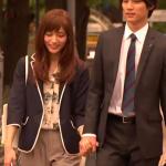 愛してたって秘密はある6話衣装!川口春奈の白花柄ブラウス&紺ジャケットが可愛い!ブランドはどこ?
