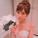 愛ある衣装!川口春奈ウェディングドレス画像が可愛すぎ!ブランドはどこ?