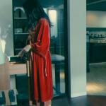黒革の手帖衣装!最終回・武井咲の赤ベロアガウンが可愛い!ブランドはどこ?