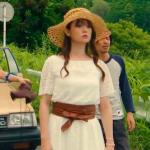 ハロー張りネズミ最終回衣装!深田恭子の白レースワンピース&茶ベルトが可愛い!ブランドはどこ?