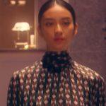 黒革の手帖衣装!最終回・武井咲の柄ブラウス&スカートが可愛い!ブランドはどこ?
