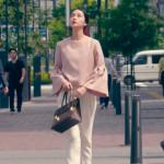 黒革の手帖衣装!最終回・武井咲のピンクフレアスリーブブラウスが可愛い!ブランドはどこ?