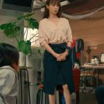 ハロー張りネズミ9話衣装!深田恭子のピンクシャツ&黒スカートが可愛い!ブランドはどこ?