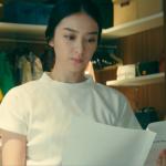 黒革の手帖衣装!7話・武井咲の白半袖ニット&ピンクスカートが可愛い!ブランドはどこ?