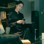 黒革の手帖衣装!最終回・武井咲の黒のマキシ丈シャツワンピースが可愛い!ブランドはどこ?
