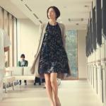 ドクターX2017衣装!4話大門・米倉涼子の黒&ゴールドの柄ワンピースが可愛い!ブランドはどこ?