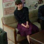明日の約束8話衣装!新川優愛の星柄カーディガンニットが可愛い!ブランドはどこ?