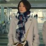 ドクターX5最終回衣装!米倉涼子の白コート&チェックマフラー&チェーンバッグが可愛い!ブランドはどこ?
