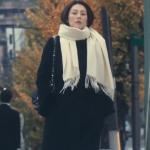 ドクターX最終回衣装!米倉涼子の黒ファーコート&白マフラー&グレートップスが可愛い!ブランドはどこ?
