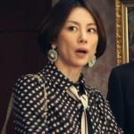 ドクターX8話衣装!米倉涼子の白黒柄ブラウスワンピ&ピアス&黒バッグが可愛いすぎ!ブランドはどこ?