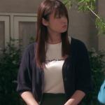 隣の家族は青く見える、深田恭子衣装!五話ネイビーカーディガンが可愛い!ブランドはどこ?